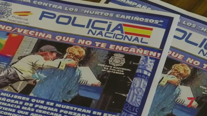 """La Policía Nacional alerta en Jerez contra los """"hurtos cariñosos"""""""