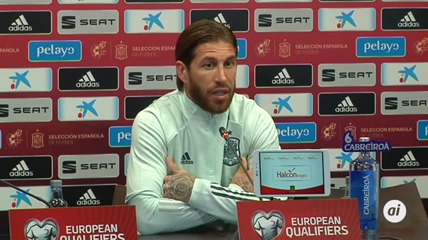 """Ramos: """"Jugar en Cádiz es especial"""""""