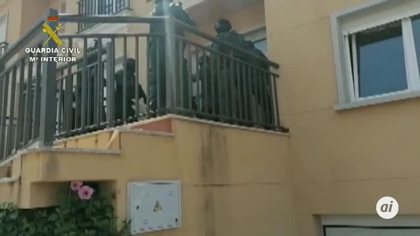 Cae una red de tráfico de hachís entre España y Francia desde Málaga