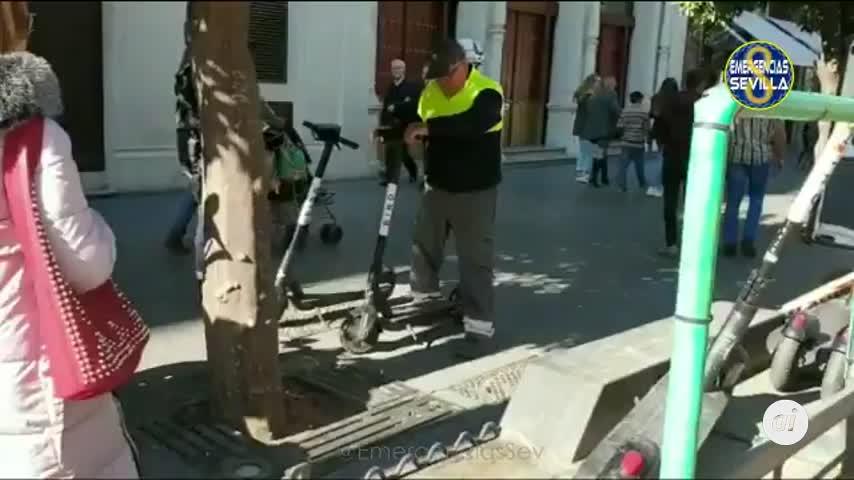 La Policía Local de Sevilla retira 170 patinetes en 72 horas