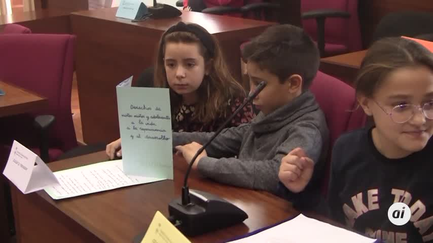 Un Pleno Infantil para hacer de Chiclana una ciudad mejor