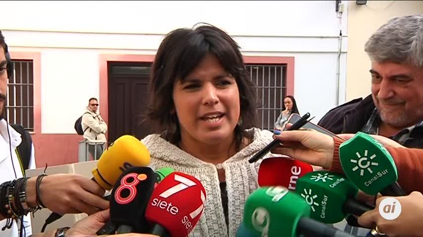 """Rodríguez califica al PSOE-A como un """"partido cargado de corrupción"""""""
