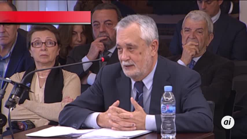 ERE: Seis años de cárcel a Griñán y nueve de inhabilitación a Chaves