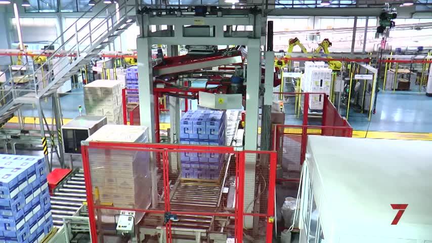 Fundador robotiza su planta de embotellado en Jerez