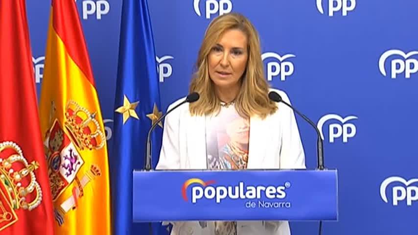 """Ana Beltrán (PP) califica de """"paripé"""" la consulta de Sánchez"""