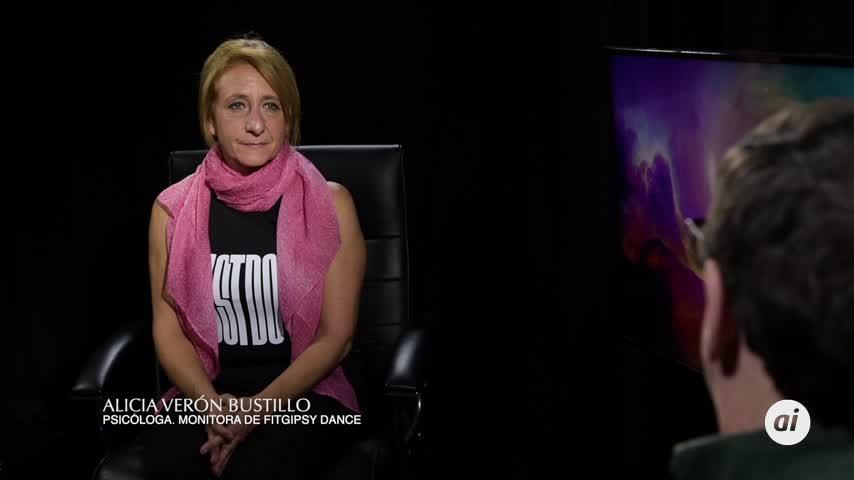 Alicia Verón, la forma de estar en forma bailando flamenco (suavito)