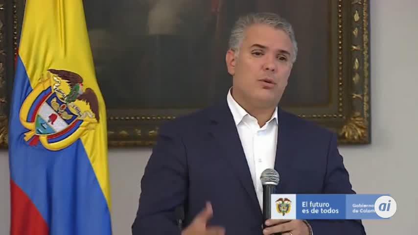 Colombia mantiene viva la protesta ante inicio del diálogo de Duque