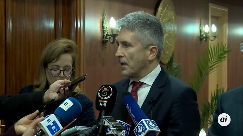"""Marlaska pide """"prevención antes de viajar"""" a los campamentos saharauis"""