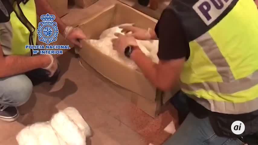 Alijo récord de metanfetamina en España: 631 kilos en Badalona