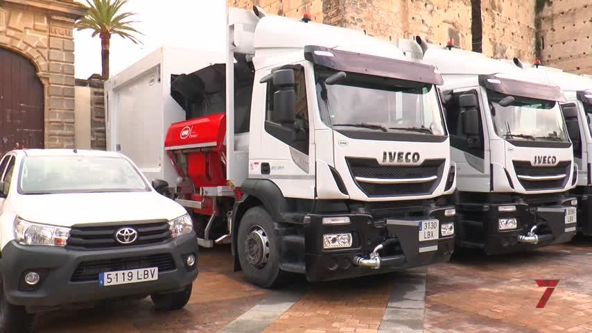 El servicio de limpieza incorpora maquinaria y 13 nuevos camiones