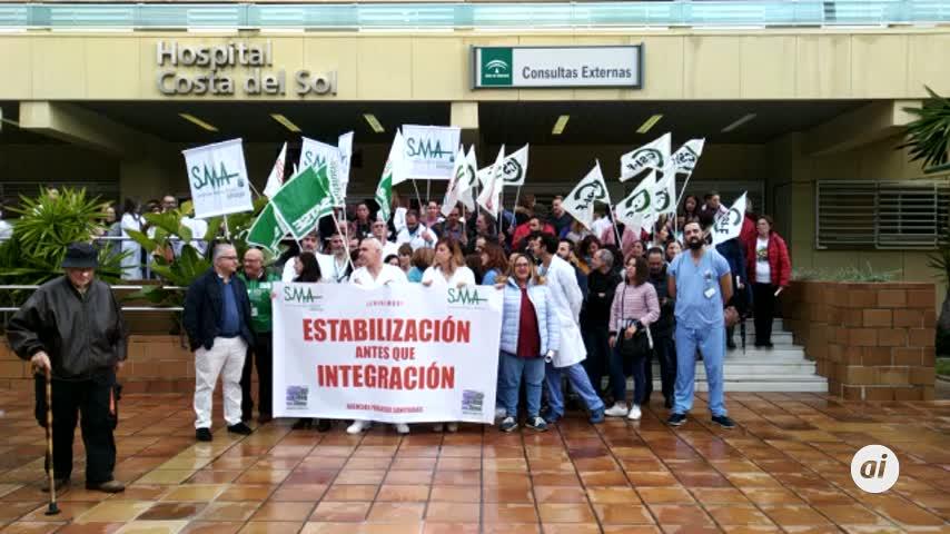 El 70% de sanitarios de la Costa del Sol va a la huelga