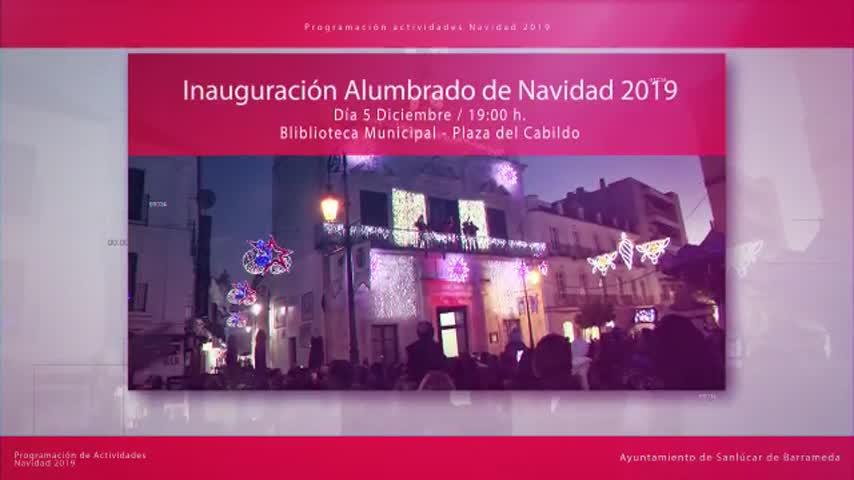 Todo preparado en Sanlúcar para celebrar la Navidad