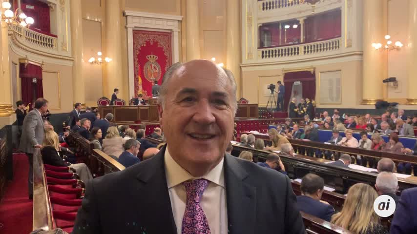 "Landaluce regresa al Senado para ""velar"" por el Campo de Gibraltar"
