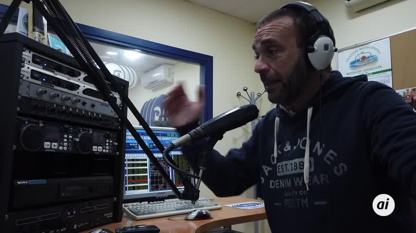 Diego Villalba habla de su personaje 'Er Cristian' en Radio La Isla