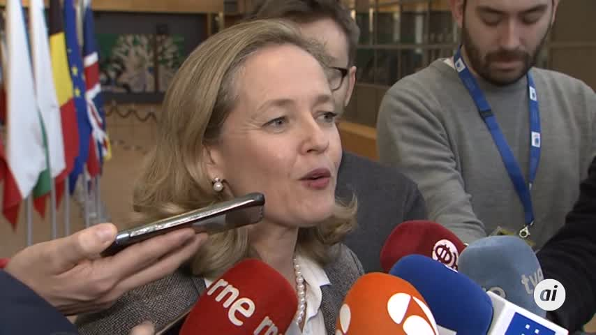 """Calviño afirma que el pacto PSOE-UP no genera """"inquietud"""" en la UE"""