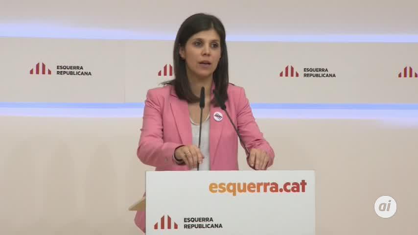 ERC descarta el acuerdo con el PSOE antes de Navidad