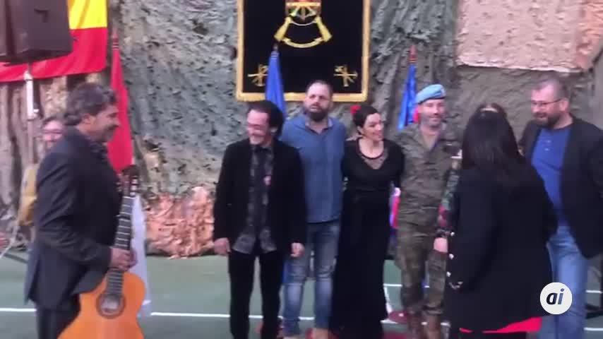 Flamenco del Campo de Gibraltar para la base española en Líbano