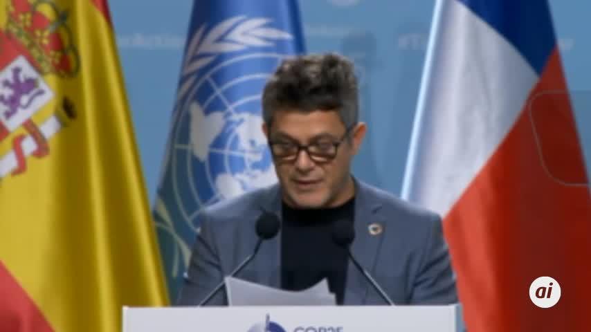 Alejandro Sanz quiere que sus conciertos sean neutros en CO2