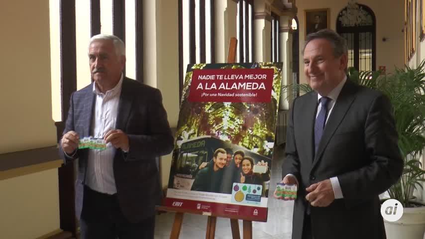 Málaga quiere una movilidad más sostenible durante la Navidad
