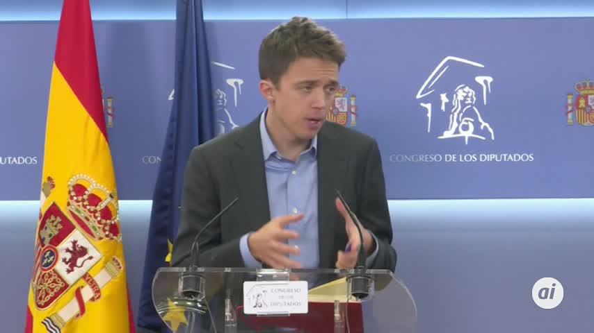 """Errejón avanza al Rey su """"voluntad"""" de votar a favor de Pedro Sánchez"""