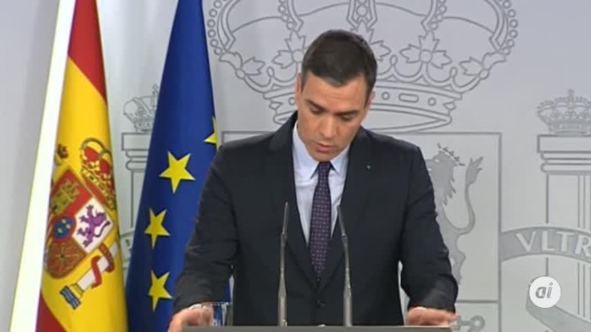 Pedro Sánchez convocará el lunes a Casado y a Arrimadas