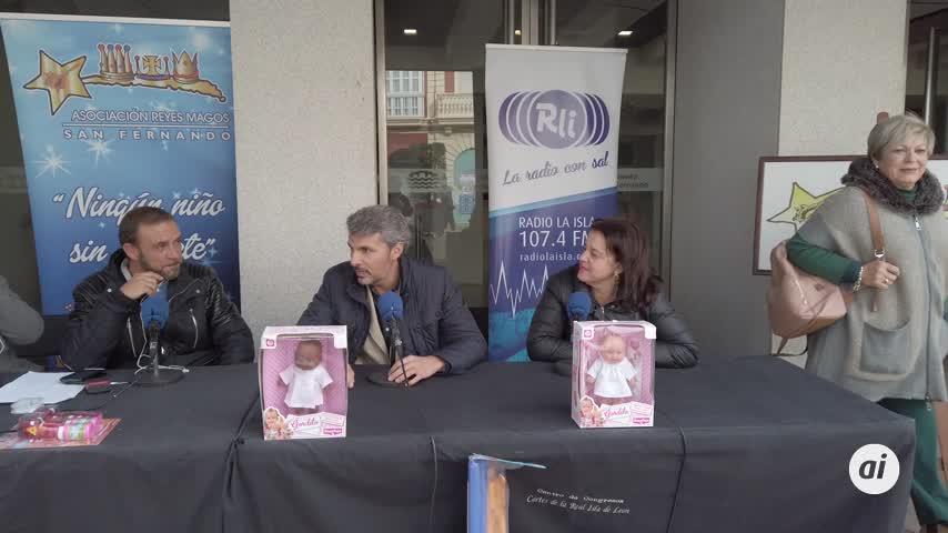 'Vivir en La Isla' en la calle Real para la Asociación de Reyes Magos