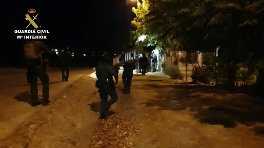 Golpe al hachís: 29 detenidos en Huelva, Algeciras, Ceuta y Málaga