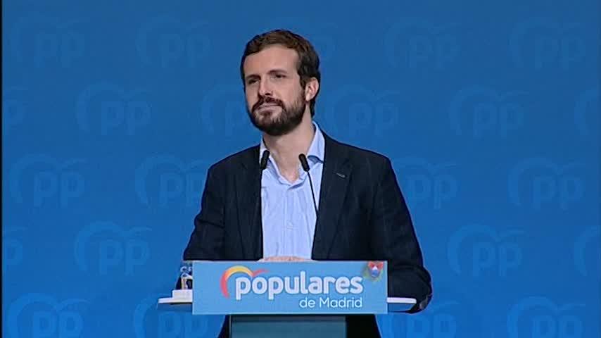 """Casado a Sánchez: """"Que no espere nada el lunes"""""""