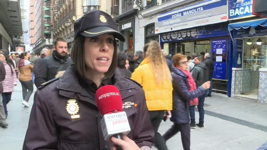 Decálogo de la Policía para evitar engaños en la Lotería de Navidad