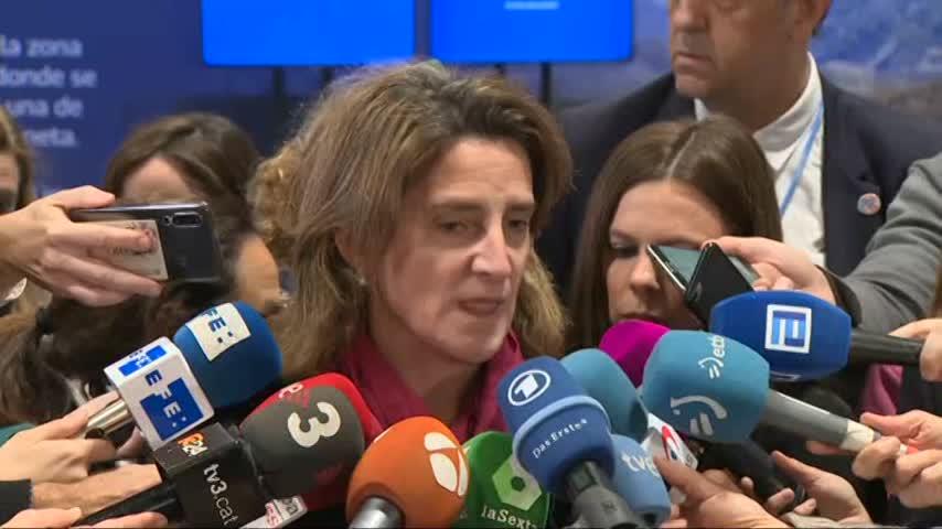 """Ribera califica de """"agridulce"""" el resultado de la Cumbre del Clima"""