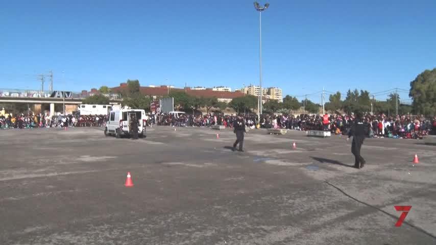 La plaza Belén acogerá la Exhibición policial en favor de la Cabalgata