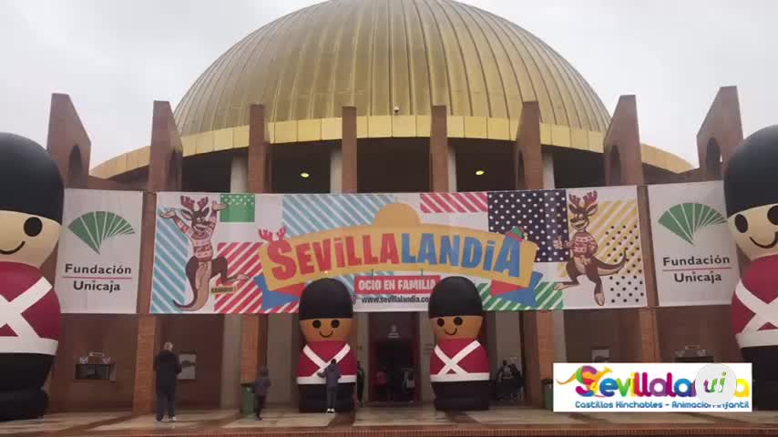'Sevillalandia' abre sus puertas en Fibes con 23.000 m2 de diversión