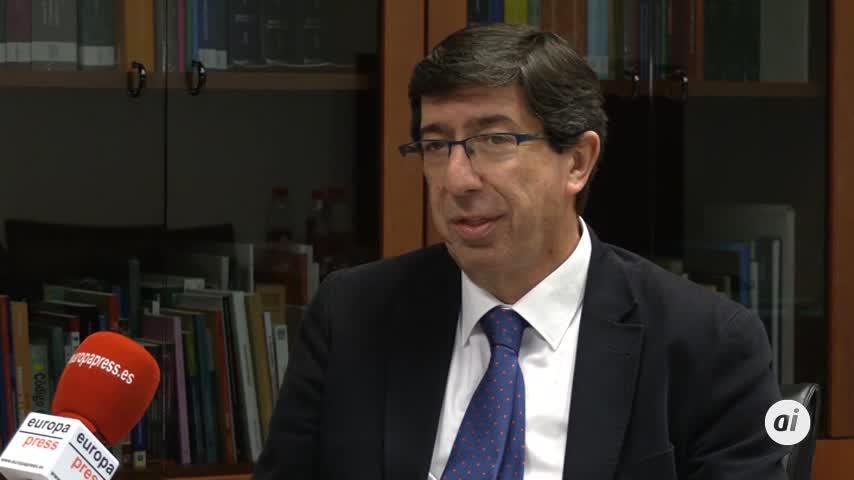 Juan Marín seguirá en primera línea política hasta 2026