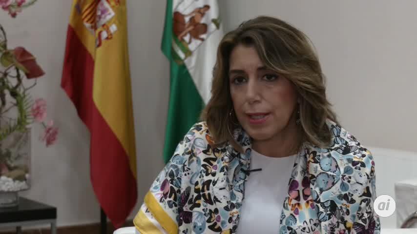"""Díaz elogia la generosidad de Sánchez por """"dialogar con todo el mundo"""""""