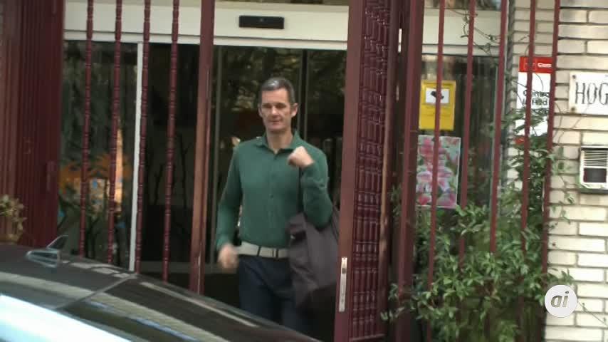 Urdangarín sale de la cárcel de Brieva para su tarea de voluntariado