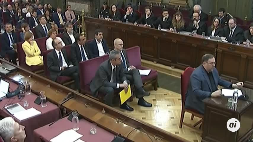 """La defensa de Junqueras pide al Supremo su """"inmediata liberación"""""""