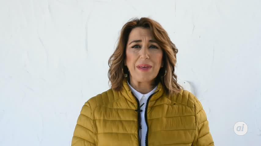 Díaz reivindica la ley contra la violencia machista en su aniversario