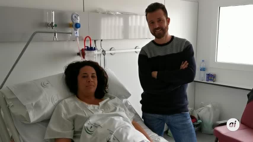 Nico, primer niño del hospital de La Línea y del Campo de Gibraltar
