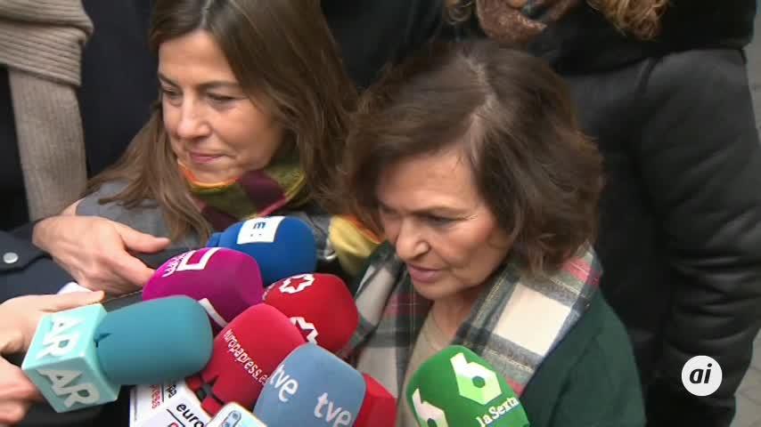 Calvo aboga por afrontar con política la crisis en Cataluña