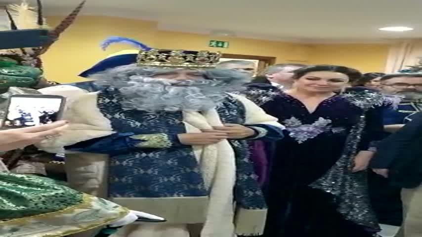 """Melchor les desea a los mayores gaditanos un """"Día de Reyes muy bonito"""""""
