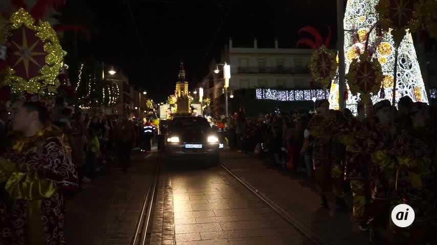 El Heraldo Real revolucionó las calles de La Isla hasta el castillo