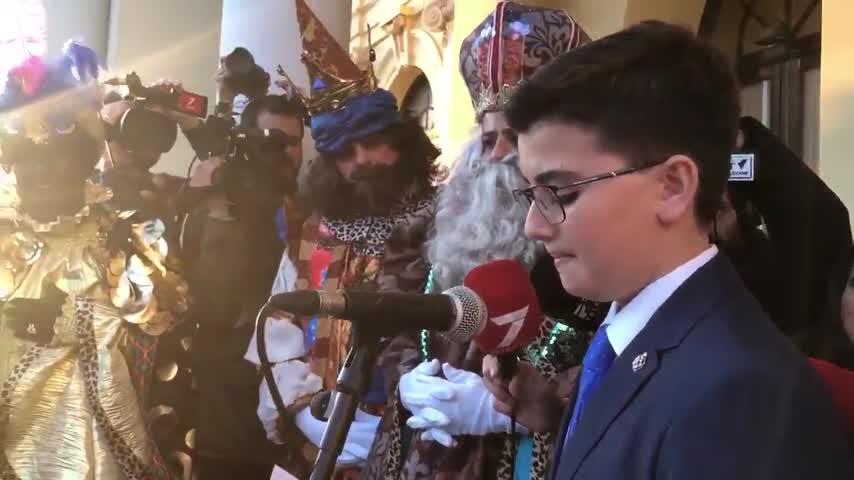 La Carta de Reyes pide que ningún niño se quede sin juguetes en Málaga