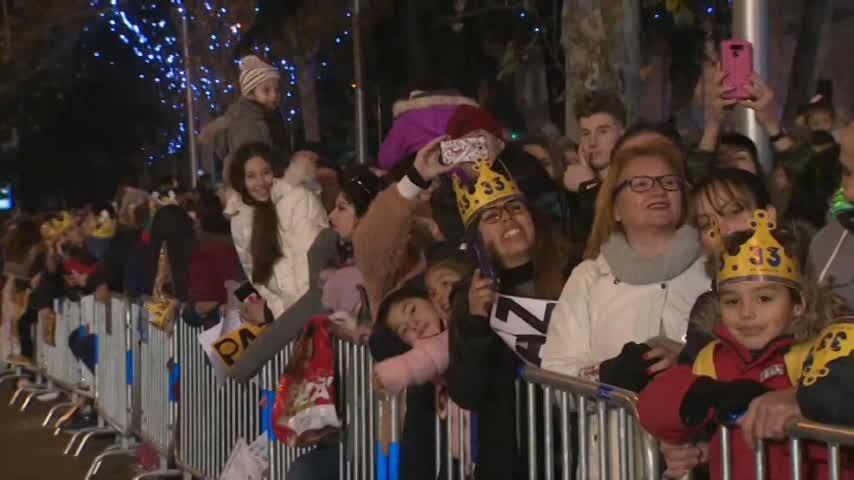 Los Reyes Magos repartieron ilusión y magia a los niños de toda España