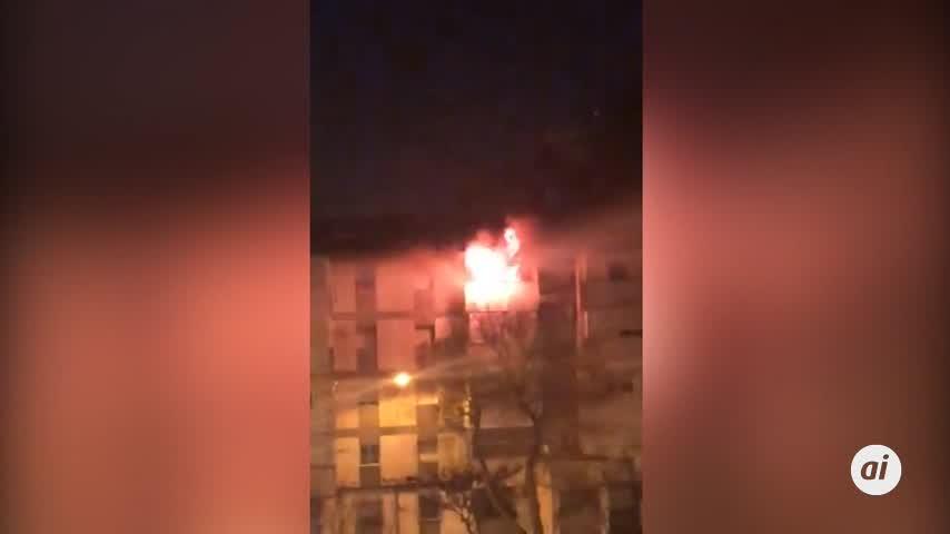 Un incendio acaba con la vida de dos hermanos en La Hispanidad