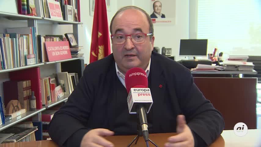 Iceta avisa de que la mesa Gobierno-Generalitat requerirá tiempo