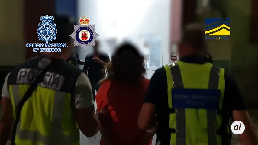 47 detenidos en España y Gibraltar de una red de tráfico de personas