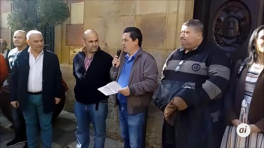 Vox se concentra en Algeciras contra el Gobierno de Sánchez