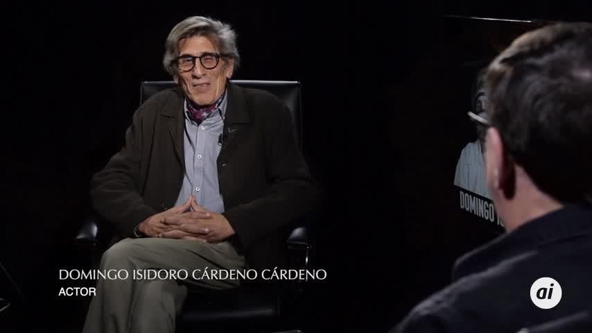 D. Isidoro Cárdeno Cárdeno, el actor para los personajes perdidos