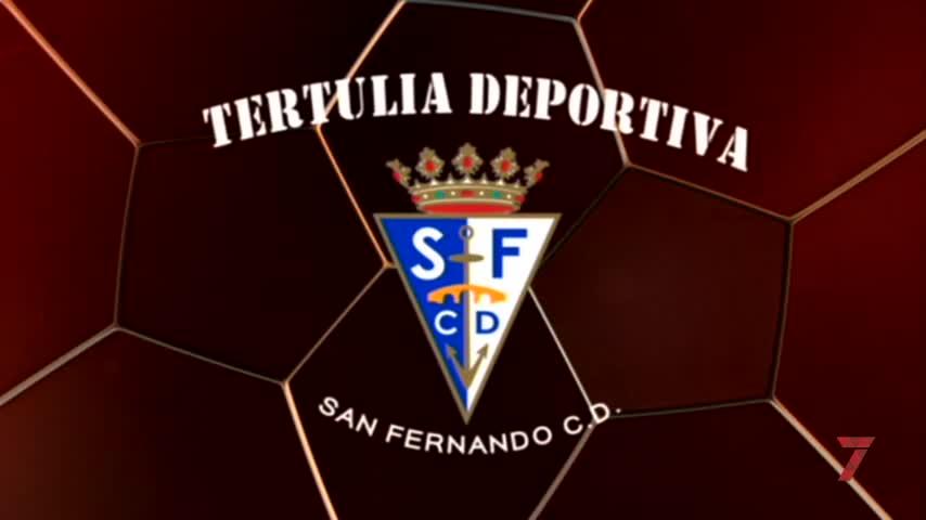 David Pérez 'Pity' y Santos Bonet, en la Tertulia del San Fernando CD