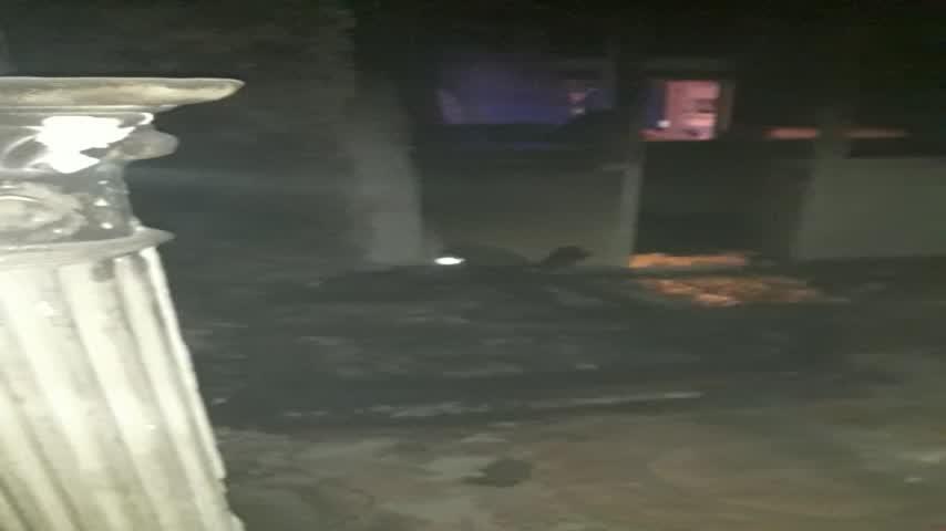 Una mujer herida en un incendio en la barriada Blas Infante de Barbate